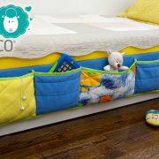 DŽEPKO – Krevetni organizator (plavi)